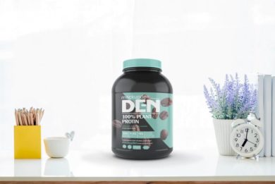 Protein Jar Mock-up Free PSD Template