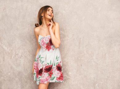 Woman Fancy Dress Free PSD Template