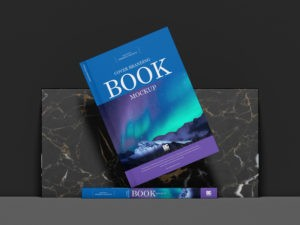 Cover Branding Book Mockup Free PSD Template