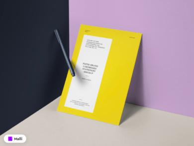 Free Paper Brand Mockup Template