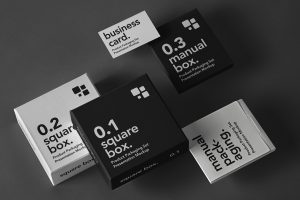 Free Product Packaging Mockup Set