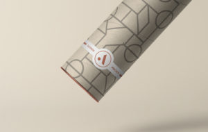 Tube with Label Free Mockup