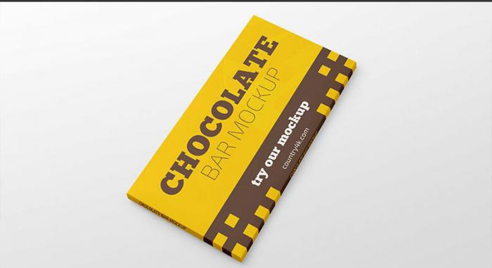 Free Chocolate Bar Mockupv