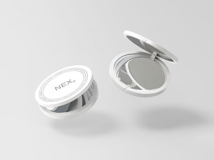Free Compact Mirror Mockup
