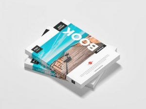 Soft Cover Book Free PSD Mockup Template