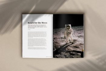 Free Book & Magazine Mockup Kit