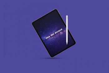 iPad Pro Free PSD Mockup