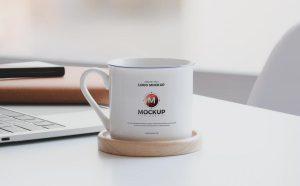 Ceramic Mug Free (PSD) Mockup Design