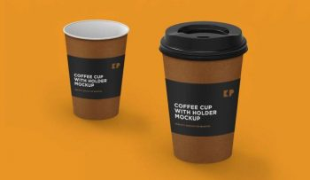 Coffee Cup Freebie Free PSD Mockup