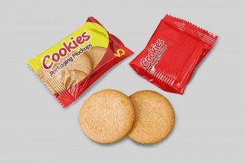 Cookie Packaging Free Mockup