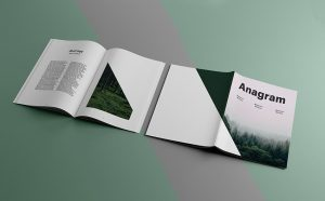 Cover & Inside Pages Magazine Free PSD Mockup