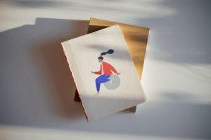 Free (PSD) Sketchbook Mockup