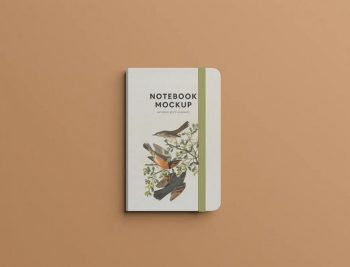 Journal Notebook Free Mockup