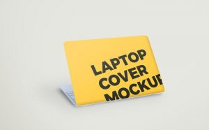 Laptop Cover Free PSD Mockup