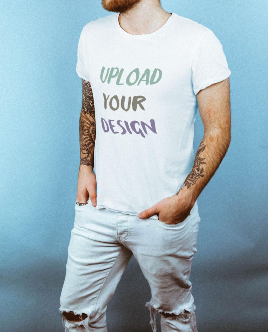 Modern T-Shirt Free Mockup