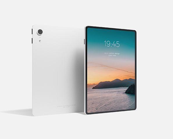 Sleek Tablet Free PSD Mockup