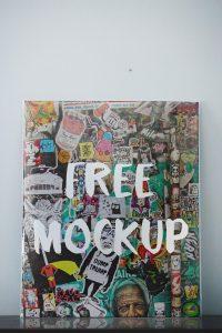 Vertical Poster Free PSD Mockup
