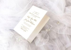 Astonishing Wedding Invitation Free PSD Mockup