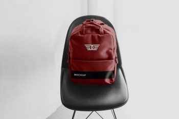 Backpack Apparel Free (PSD) Mockup
