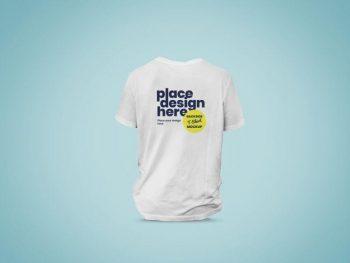Backside of T-Shirt Free (PSD) Mockup