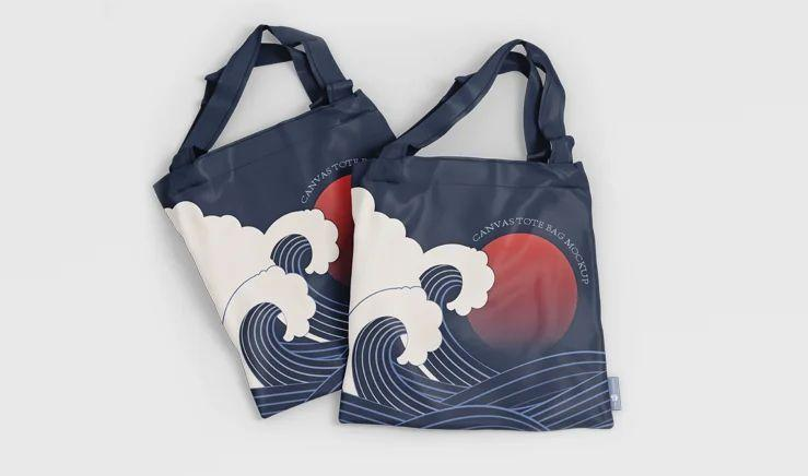 Free Canvas Tote Bag Mockup (PSD)