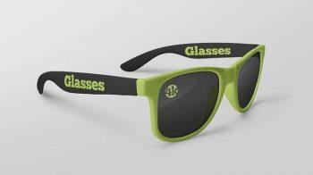 Free Glasses Mockup (PSD)
