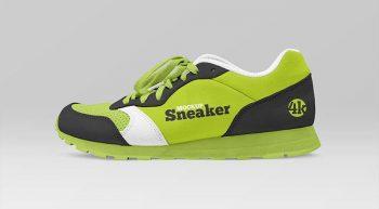 Free Modern Sneaker Mockup