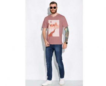 Man's V-Neck T-Shirt Free Mockup
