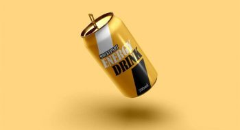 Soda Can Free (PSD) Mockup Template