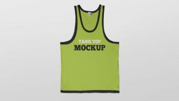 Tank Top T-Shirt Mockup Free (PSD) Mockup