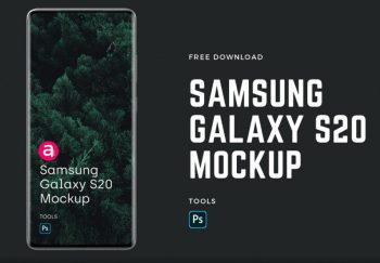 Samsung Galaxy S20 Free (PSD) Mockup