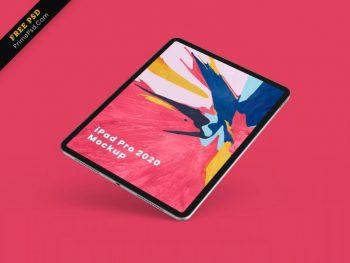 iPad Pro Free (PSD) Mockup Template