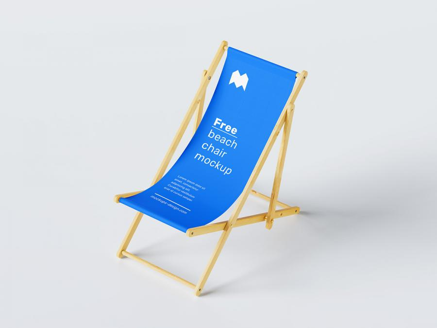Beach Chair Free (PSD) Mockup