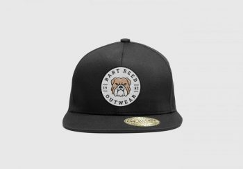Fashionable Snapback Cap Free Mockup