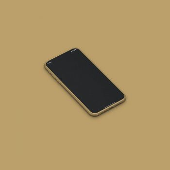 Free Isometric iPhone 11 Mockup