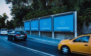 Free Outdoor Advertising Billboard Sign Mockup