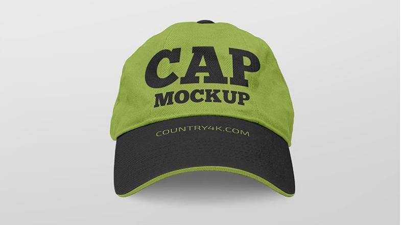 Free Set Of Cap Mockups
