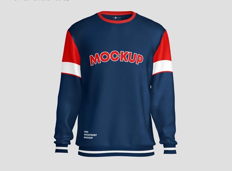 Free Sweatshirt Mockup