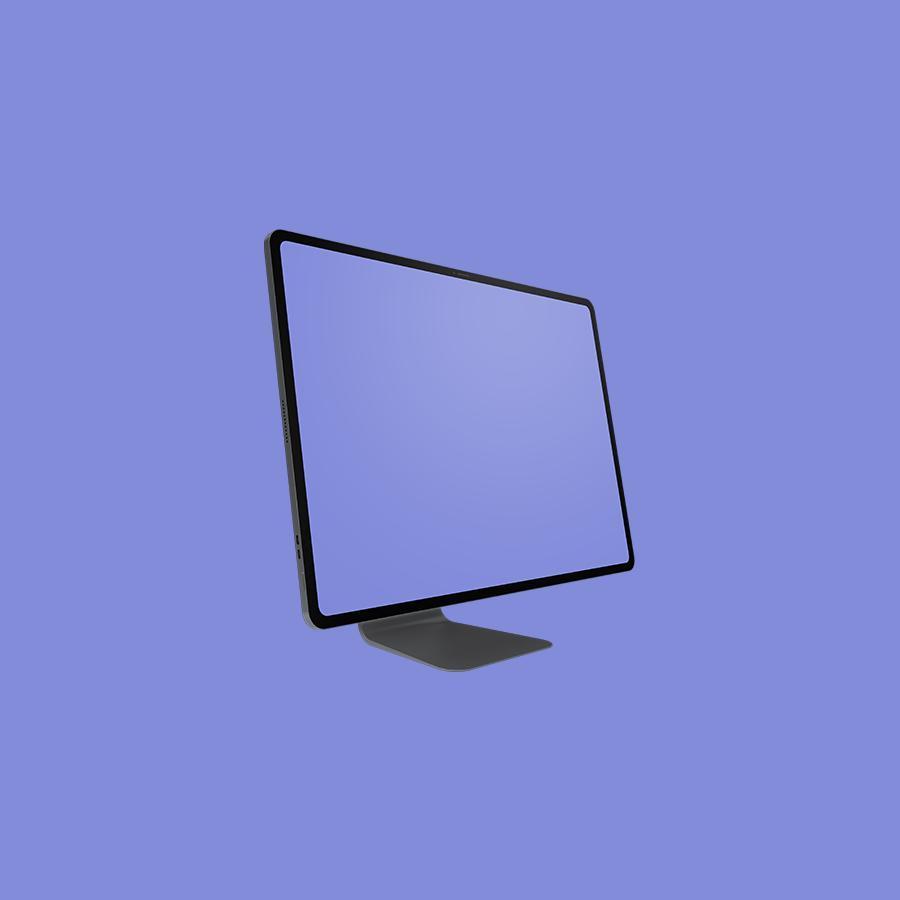 Free iMac Pro Concept Mockup