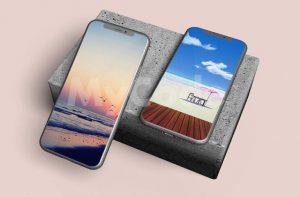Free iPhone 11 Pro Mockup Set Template