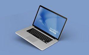 Macbook Pro Set Free (PSD) Mockup