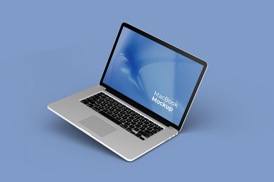 Macbook Pro Set Free (PSD) Mockup