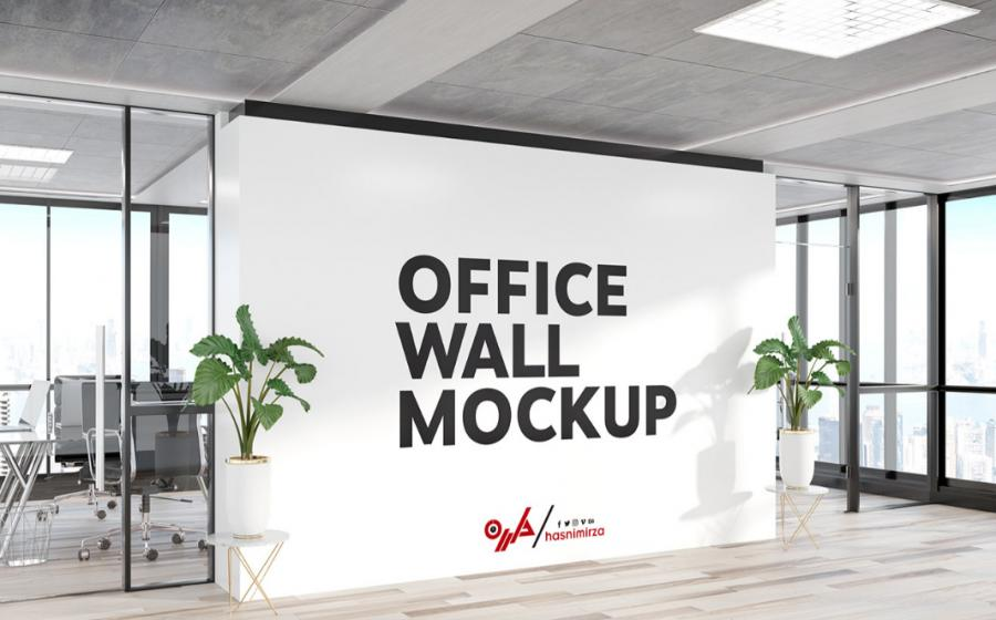 Free Interior Wall Art Mockup