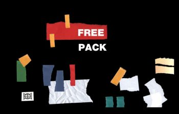 Free Stickers Pack Mockup