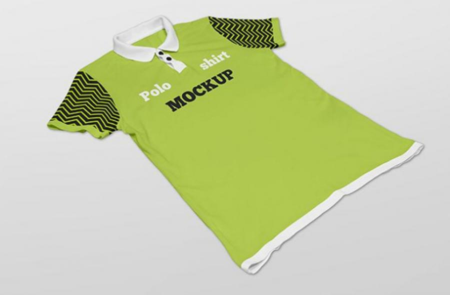 2 Free (PSD) Polo Shirt Mockups