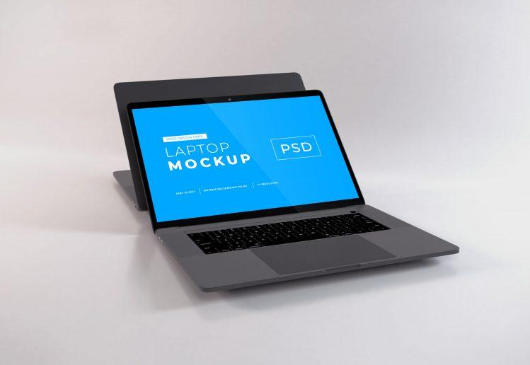 Free Apple MacBook Pro Mockup