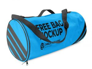 Free Crossover Boarding Bag Mockup