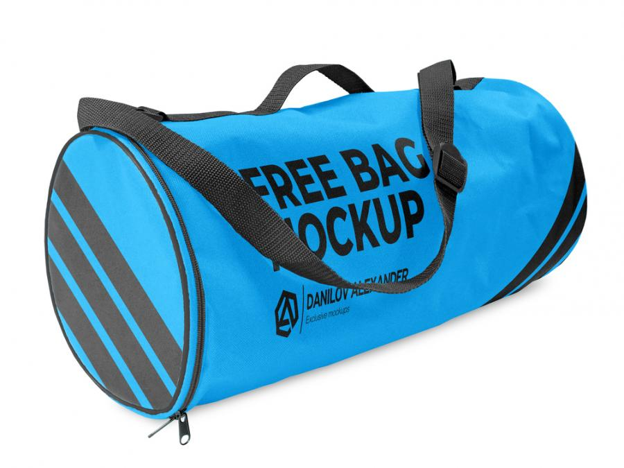 Free Crossover Boarding Bag Mockup