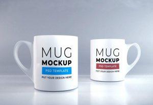 Free Mugs Mockup