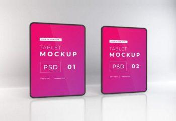 Free iPad Mock-ups Template